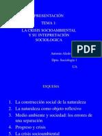 Presentación1 crisis socioambiental
