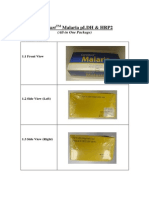 33. Package Spec Malaria All-In-One Package With Pictureny