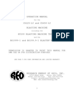 Manual operación EXPLOSOR REO CD225-2J