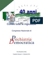 Programma Definitivo Congresso Psichiatria Democratica,2014 (2)