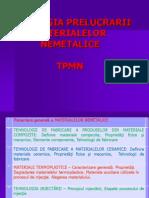 TPMN Prezentare Curs 1