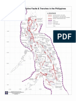 Phivolcs Map of Trenches and Faults