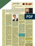 Newsletter Gente Que Faz 6 Out 2009