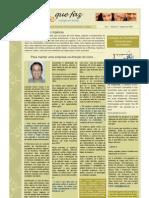 Newsletter Gente Que Faz 2 Ago 2009
