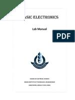 BE Lab Manual 2014 iit bhubaneswar