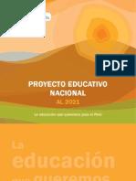 Proyecto educativo nacional (PEN-2021)
