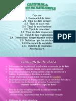 Tipuri de Date Simple(PASCAL)