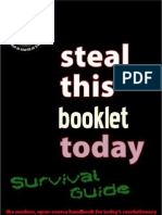 Steal This Survival Pamphlet