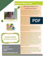 wm march 2014 newsletter