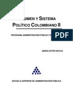 Regimen y Sistema Político Colombiano II