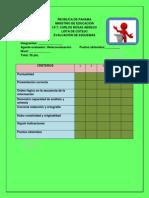 instrumentos de evaluacin para el proyecto de los vicios de diccin