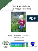 Teachers Guide to Creating Organic Produce Gardens