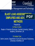 Blast Load Assessment By