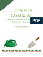Summer in the School Garden