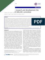 Malaria Vaccine Research and Development