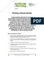 Starting a School Garden by RHS