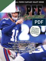 PFF Fantasy 2012 Draft Guide