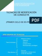 tecnicasdemodificaciondeconducta-110110070351-phpapp01