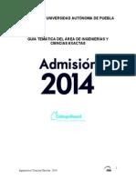 Guia 2014 Ingenieria y Ciencias Exactas