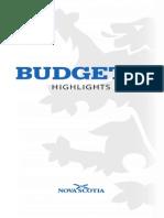 2014 Nova Scotia Budget Highlights