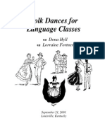 Folk Dances for a Language Class