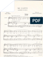 Mi canto - Carlos Gustavino
