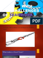 Dealing With the Challenges of Teamwork