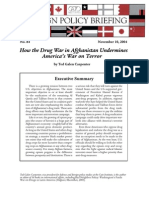 drug wars - how the drug war in afghanistan undermines americas war on terror - ted carpenter