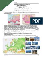 2013 Geografie Nationala Clasa a Xiia Proba Teoretica Subiecte Si Bareme