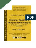 Anais Eletronicos-IV Encontro de Historia-2012