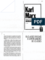 2_IANNI, Octavio. Cap II – Classes Sociais e Contradições de Classes. IN Sociologia – Karl Marx