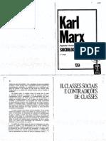 2_IANNI, Octavio. Cap II – Classes Sociais e Contradições de Classes. IN Sociologia – Karl Marx