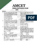 Eamcet 2000 Engineering Paper