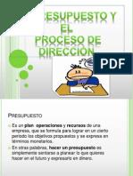 El presupuesto y el proceso de dirección.pptx