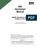 Parker SSD 890 Quick Start Frames G H J (1)