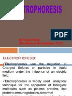 ELECTROPHRESIS