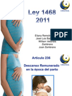 ley 1468 del 2011