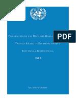 Convenio Naciones Unidas Drogas 1988