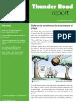 Thunder Road Report 16 1st September 2009