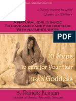 10 Steps to Care for your Hair (Extract)