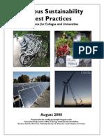 Campus Sustainability Best Practices