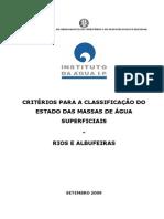 01 Critérios Classificação Rios e Albufeiras