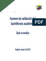 Guia Que se evalua - Examen de validacion mayo 2012.pdf