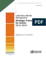 Laboratory Biorisk Management