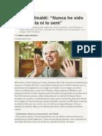 María Laura Avignolo - Entrevista a Susana Rinaldi.