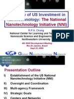 Overview of US Investment in Nanotechnology