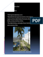 Aula Tópicos - Formação das cidades no Brasil