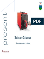 Sala Calderas UNE 60601