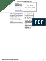 Fichas Técnicas dos Produtos Bronze SAE68D C95500