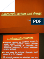 Pharmacology Lecture - 07 Adrenergic System